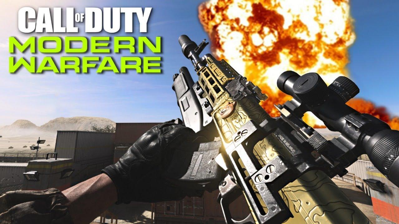 Getting Gold Guns In Call Of Duty Modern Warfare Cod Mw - call of duty 4 modern warfare free for all roblox