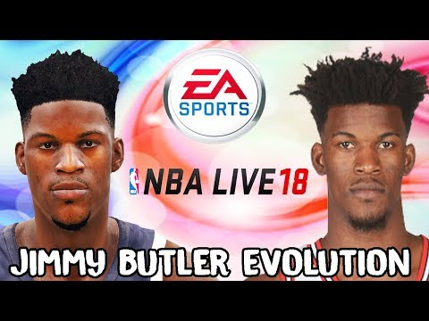 Jimmy Butler Evolution - Face Comparison (NCAA Basketball 09 - NBA Live 18)