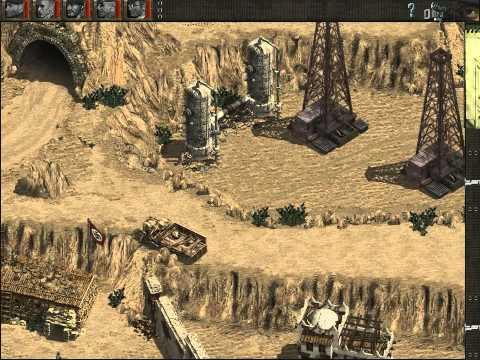 Обзор игр серии Commandos часть первая.