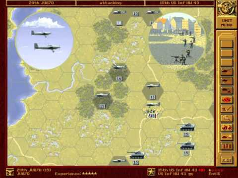 Let's Re-Play - Panzer General - The Grand Campaign - 060 - Washington - Part 004 - by MrKritik77