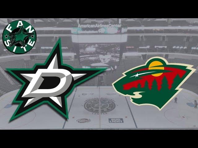 Dallas Stars vs Minnesota Wild | 31 Mar 2018