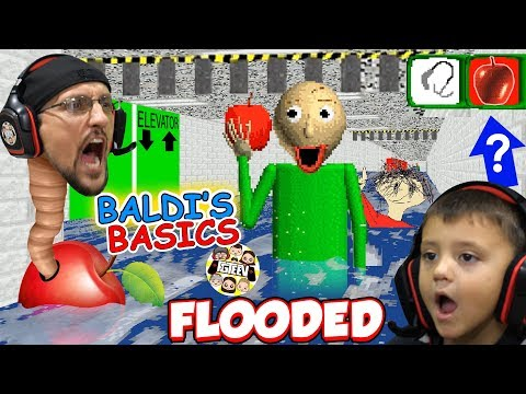 BALDI LOVES APPLES! Flooded & Foggy School Hallways! (FGTEEV 🍎 BALDI's BASICS FULL GAME!) from YouTube · Duration:  13 minutes 53 seconds
