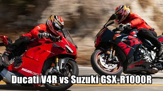 Why Does The Ducati Panigale V4R Cost More Than Double A Suzuki GSX-R1000R?