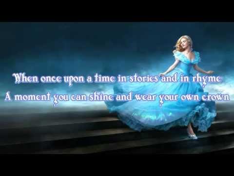 Cinderella 2015 - Strong -  Sonna Rele - Lyrics / Karaoke