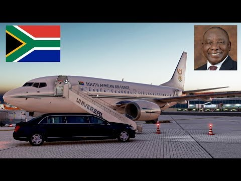 Transporting The President Of SOUTH AFRICA | South African Airforce 737-700 | X-Plane 11