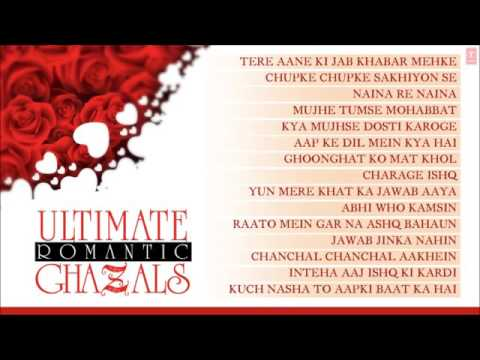 Ultimate Romantic Ghazals   Jukebox   Jagjit Singh,...