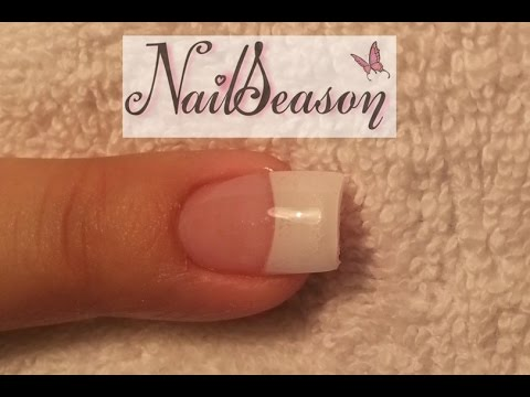 French manicure acrylic nail tips