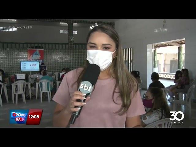 Campanha inicia vacinação de adolescentes com 13+ sem comorbidades em Cabedelo - O Povo na TV