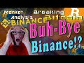 Breaking Bitcoin - Binance Maintenance: The Aftermath - Live Cryptocurrency Technical Analysis