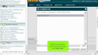 how to install an ssl certificate in whm whm management tutorials