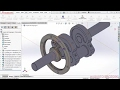 Solidworks Radial Engine Motor Radial Gear Assembly 07 de 08 Parte 02