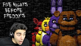 HIDE IN THE DARK OR THEY WILL GET YOU! - Five Nights Before Freddy's (Nights 1 & 2 COMPLETED!)