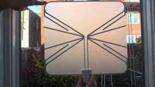 winegard fl5500c flatwave amplified razor thin hdtv indoor antenna