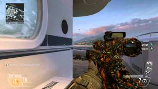 Black Ops 2 Hijacked to Cove Tomahawk Easter Egg | Tutorial: How I did it | Hijacked Easter Egg
