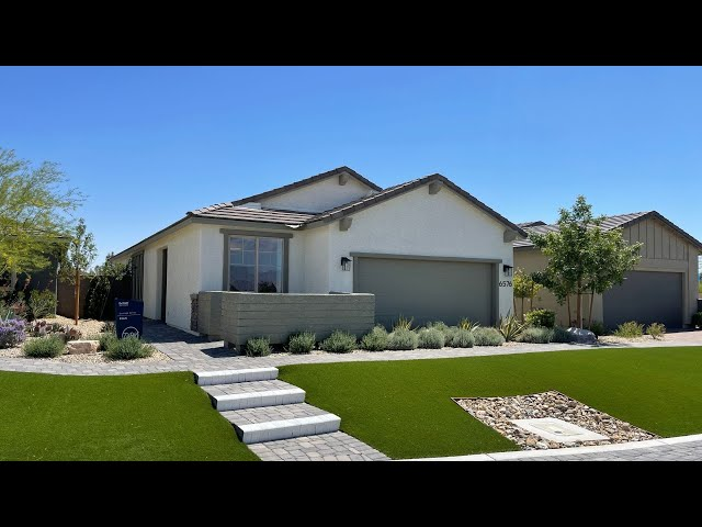 North Las Vegas New Homes For Sale | Del Webb North Ranch | Peak Home Tour | 55+ | $340k+ 1,509sf