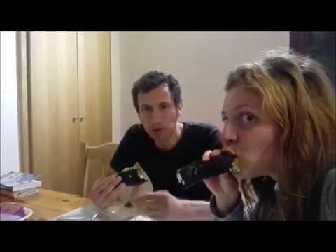 Come preparare il SUSHI VEGAN LIGHT con gli asparagi di mare!