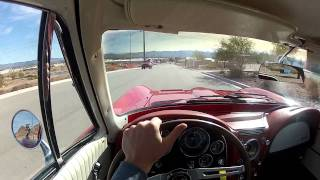 1964 Corvette Sting Ray Test Drive Driver's Perspective Viva Las Vegas Autos