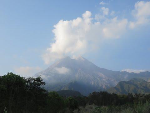 Trip to Mount Merapi volcano, Yogyakarta, Indonesia