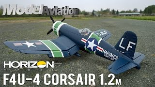 horizon hobby e flite f4u 4 corsair 1 2m bnf basic model aviation