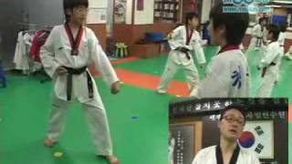 우태권도장의 - CHAGN UNG TKD. Kids class (Hanbon-Sebon Kyorugui & Ho Sin Sool).