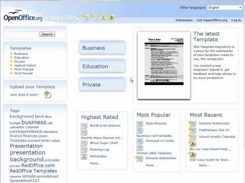 How To Use OpenOffice Free Templates To Enhance Your Projects