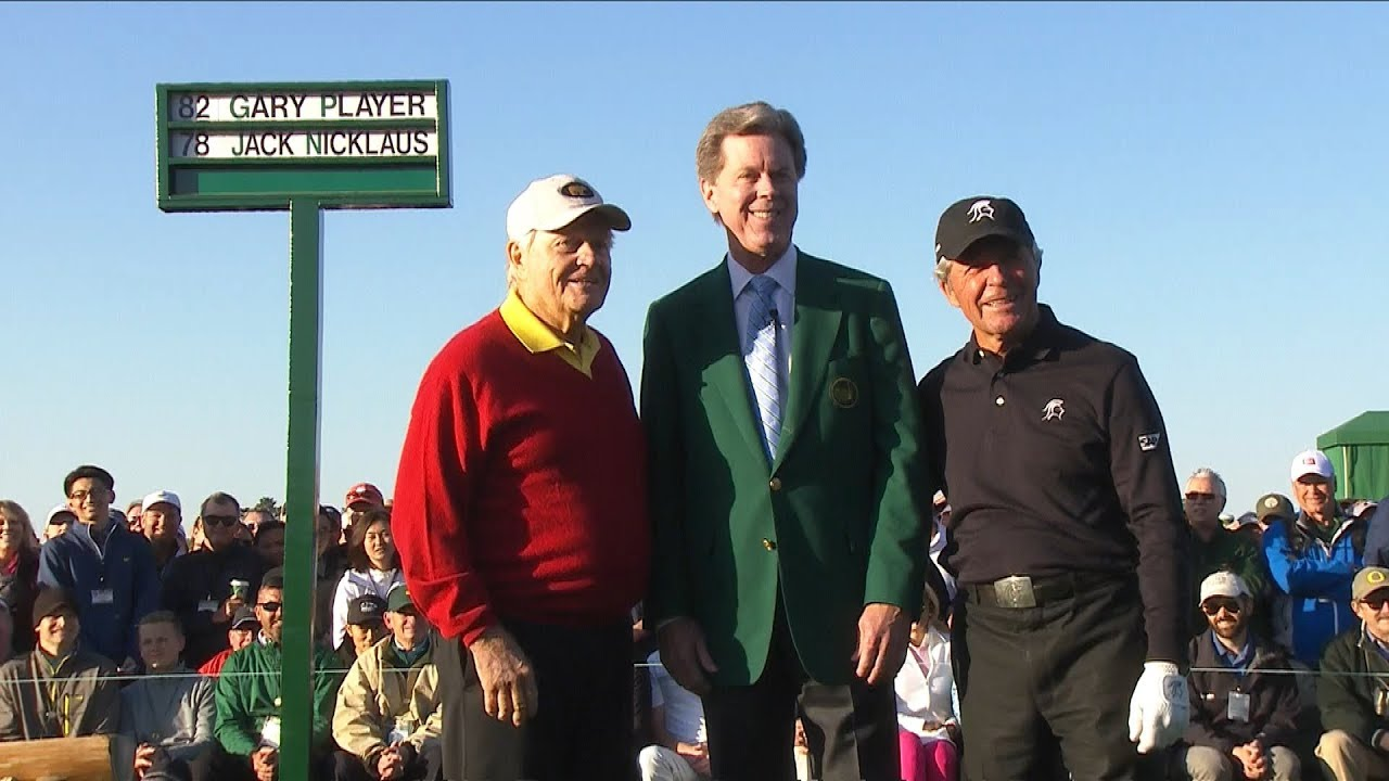 2018 Masters Honorary Starters Ceremony