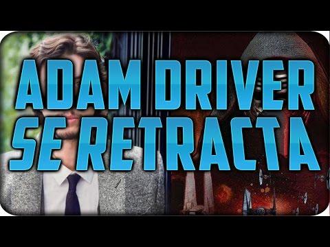 ADAM DRIVER RETRACTA SU COMPARACIÓN CON EL EPISODIO V