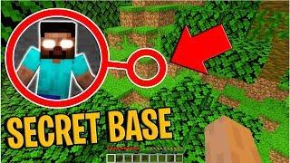 Do NOT Enter Herobrine's Secret Base in Minecraft... (Scary Minecraft Video)
