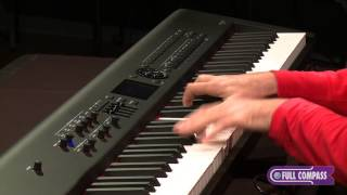 roland rd 800 88 key stage piano overview   full compass