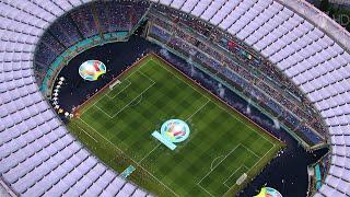 Церемонию открытия чемпионата Европы по футболу и стартовый матч в прямом эфире покажет Первый канал