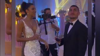 Jessica Aidi's stunning Parisian wedding with husband Marco Verratti
