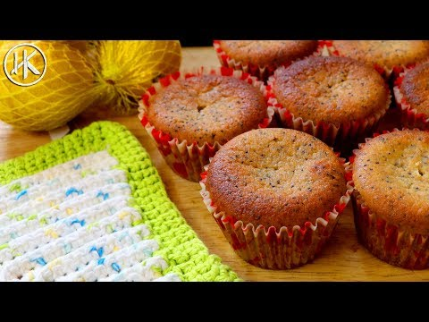 Keto Muffins - Lemon & Poppy Seed | Keto Recipes | Headbanger's Kitchen