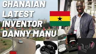 How A Ghanaian Entrepreneur Developed Wireless Earbuds That Can Translate 40 languages
