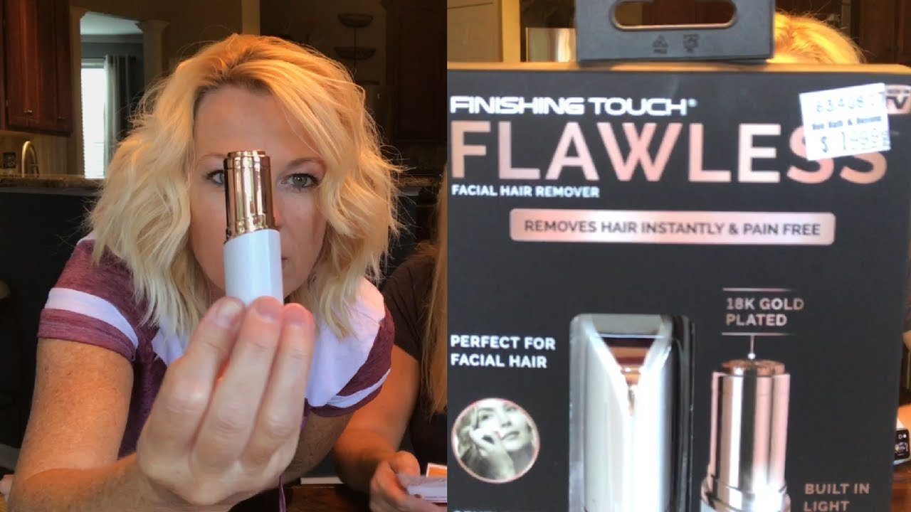 Finishing Touch Flawless Hair Remover Review