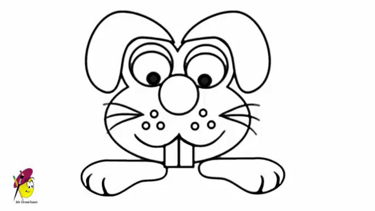 Funny Dog How To Draw Dog Face Funny And Easy Drawing