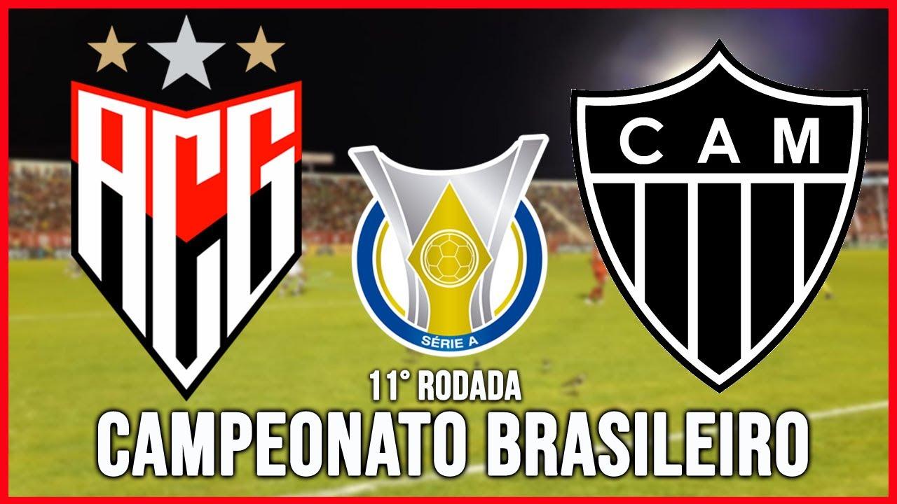 Atletico Go X Atletico Mg Ao Vivo Com Imagens Campeonato Brasileiro 19 09 2020 11 Rodada Youtube