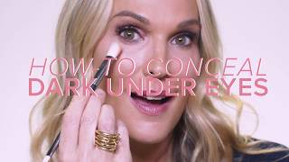 How To Conceal Dark Under Eyes | Molly Sims