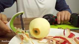 Cách gọt vỏ táo chỉ trong vài giây