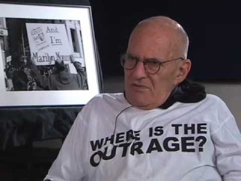 Larry Kramer 20th Anniversary ACT-UP AIDS Coalition Unleash Power