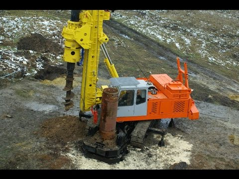 Геомаш: Свайная буровая установка УСГ-010