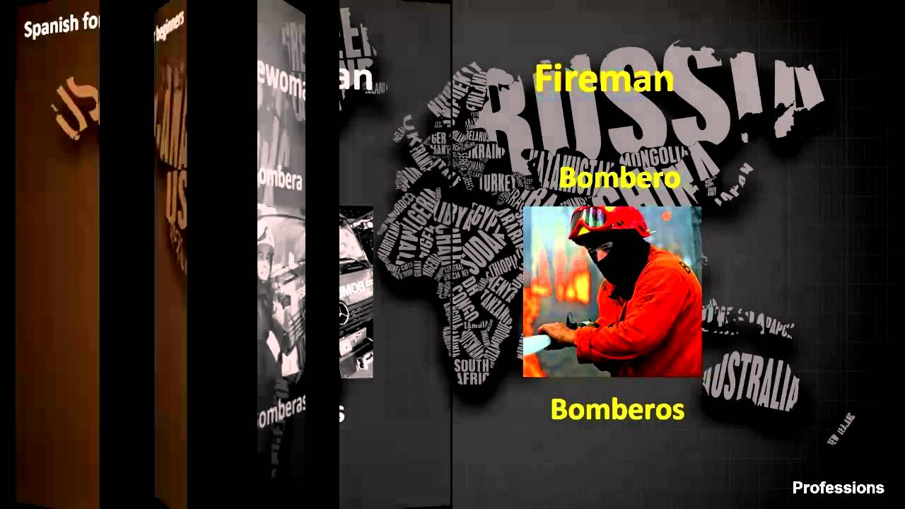 Spanish For Beginners Professions Part 2 Youtube