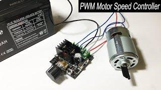 775 motor speed PWM controller (12V-40V 10A) testing