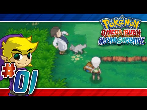 Let's Play Pokemon: Omega Ruby - Part 1 - A long road ahead!