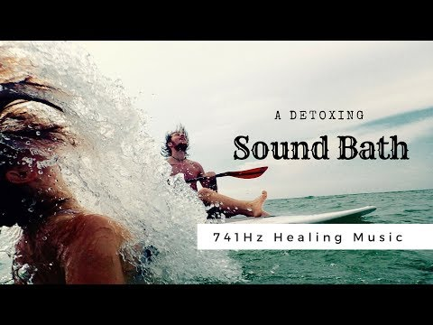 741Hz ❯ DETOX SOUNDBATH ❯ Cleanses All the Negativity Out