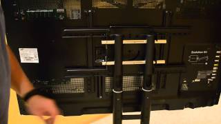 Kanto MTM65 Mobile TV Stand assembly part 3 final