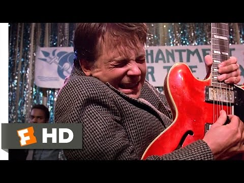 Johnny B Goode  Back to the Future 910 Movie CLIP 1985 HD