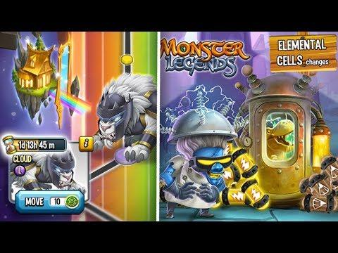 CAMINO De CLOUD (2995 MONEDAS) Y ACTUALIZACION GORDA MAÑANA! - Monster Legends