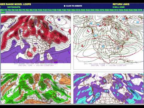 Education Video  500 MB pattern for Winter Storms