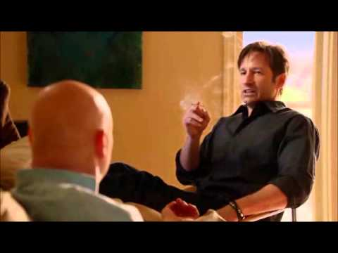 Priceless Hank Moody and Charlie Runkle moment from Californication