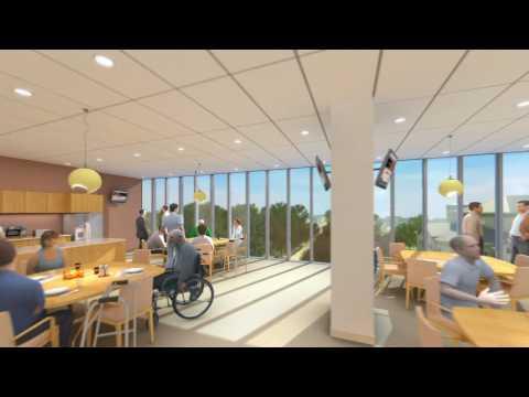 The new Bridgepoint Hospital